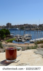 A cup of tee on the Nile