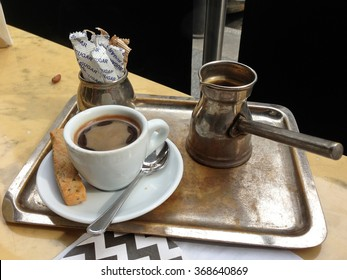 A cup of turkish coffee, Beirut