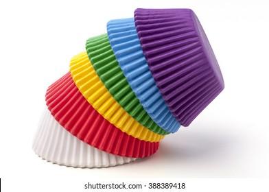 Cupcake Baking Cups Rainbow