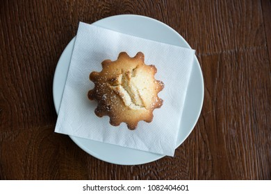 Cupcake on a plate