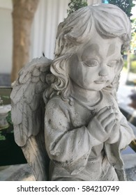 Cupid statue