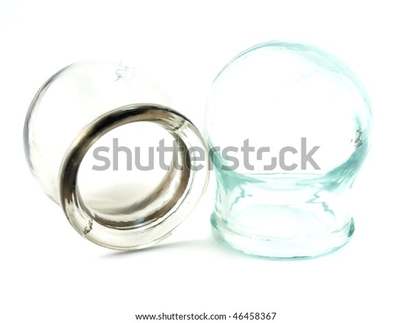 cupping-glasses-over-white-600w-46458367