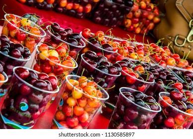 Cups full of Cherries
