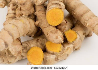 Curcuma aromatica Salisb, (Wan Tong Kum Thai name) Thai herbs have property medicine.