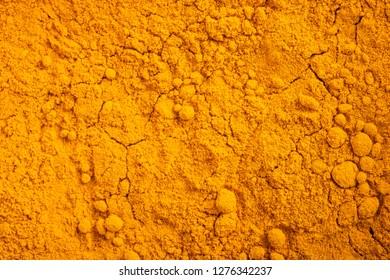 Curcuma (Curcuma longa) powder background
