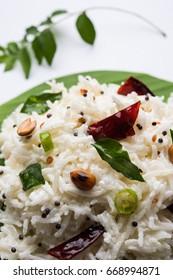 Curd Rice / Dahi Bhat / Dahi Chawal - Basmati rice mixed with yogurt or curd and seasoning