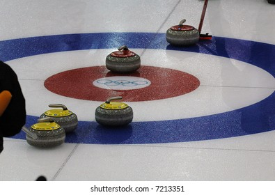 Curling at the Olympic Winter games 2006 in Torino