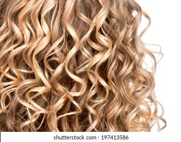 Curly Blonde Hair Images Stock Photos Vectors Shutterstock