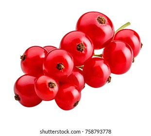 currant isolated on white background clipping path