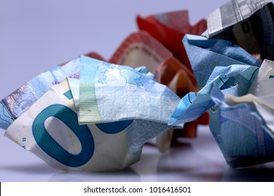 Currency euro cash