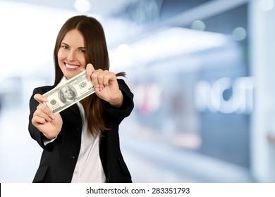 Currency, Savings, Women.