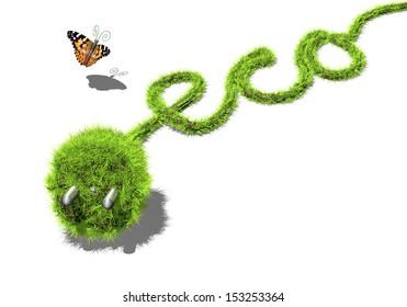 Current line plug environmentally conscious