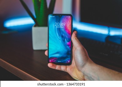Currently the most popular phone - Xiaomi Redmi Note 7.