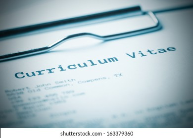Curriculum Vitae Images Stock Photos Vectors Shutterstock