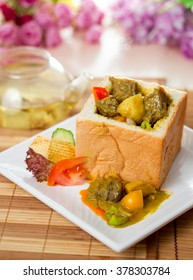 curry bread set