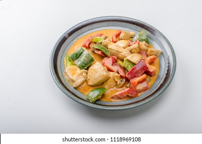 Curry chicken vegetable fresh food, food photography