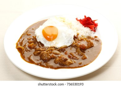 Curry Japanese Restaurant with Egg