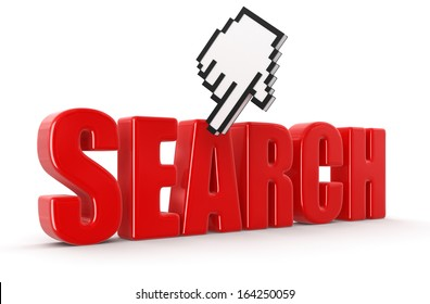 Cursor and search (clipping path included)