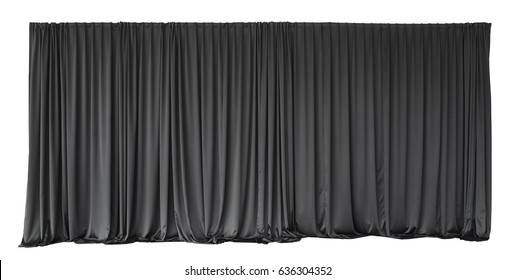 Curtain or drapes background