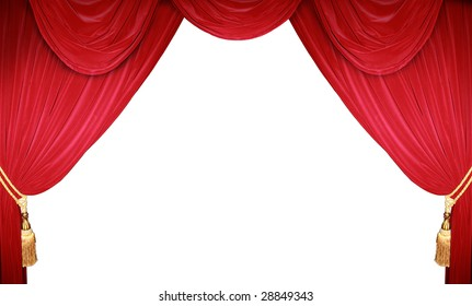 the curtain rises
