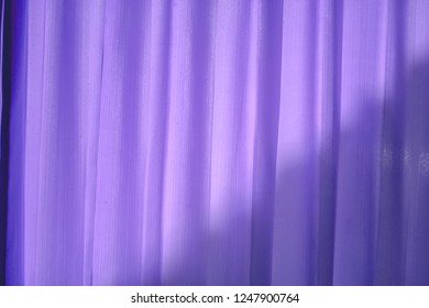 curtains with light on the back make the blinds.
