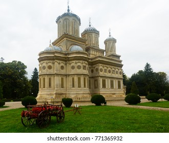 Curtea de Arges Cathedral, one of most beautiful and unusual temples of world