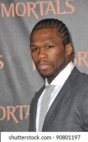 "Curtis ""50 Cent"" jackson at the world premiere of ""Immortals"" at the Nokia Theatre L.A. Live in downtown Los Angeles. November 7, 2011  Los Angeles, CA Picture: Paul Smith / Featureflash"