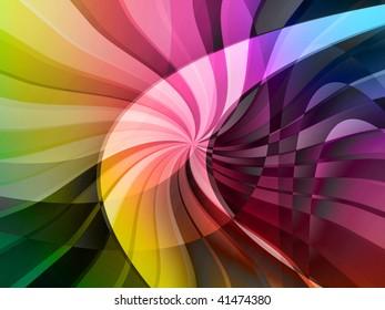 curve digital background