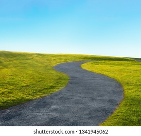 curve path in s-shape
