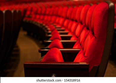 Curve of Red Seats