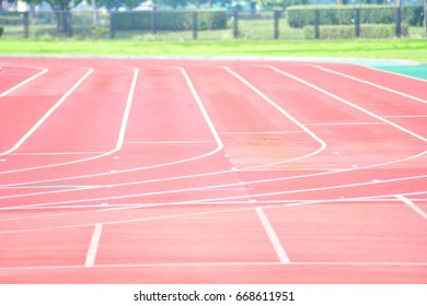 Curve of a Running Track.