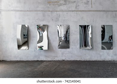Curved mirrors of House of mirrors