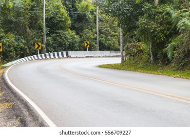 Curved road