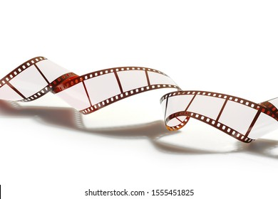Curved spiral of a 35mm strip film and Frames for your pictures