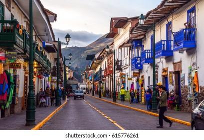 Cusco Peru 15.12.2016
