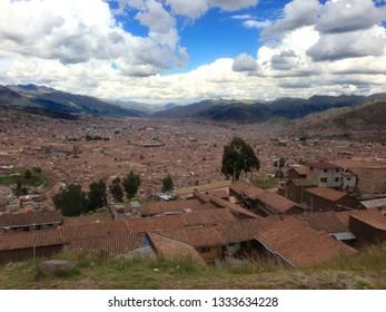 Cusco Peru High altitude town
