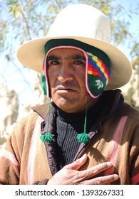 Cusco, Peru - May 11 2014: Peruvian people.