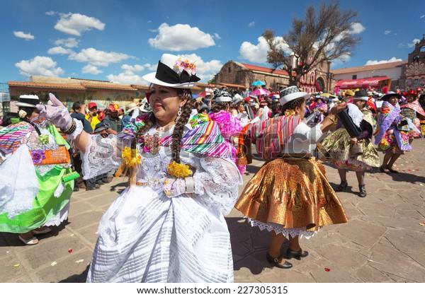 Cusco Peru September 8 Unknown Peruvian Stock Photo (Edit