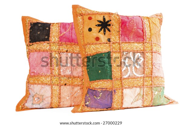 cushion isolated on a white background