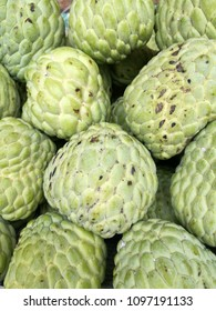 custard apple in the market