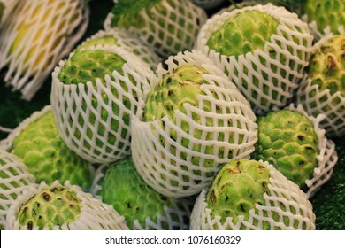 custard apple for sell in market