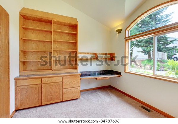 Custom Build Home Study Office Library Stock Photo (Edit Now ...