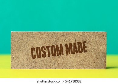 Custom Made, Business Concept