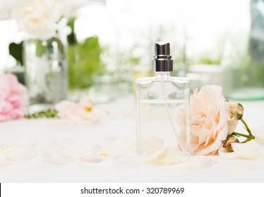 Custom Made Perfume in a Glass Bottle