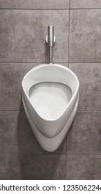 Custom men's urinal