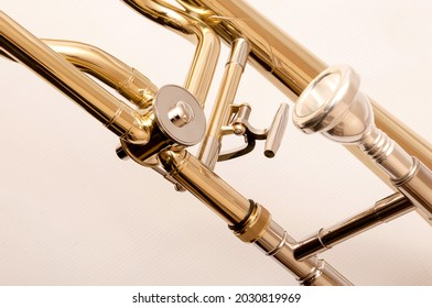Custom Slide Trombone Birdland with Textile Case
