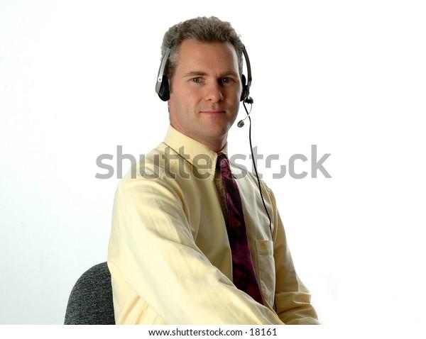 Customer service guy 2