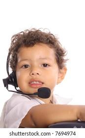 customer service kid