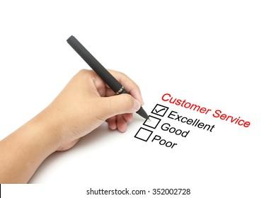 Customer service performance evaluation