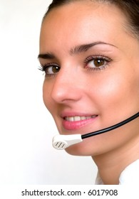 Customer Service Woman  in an Office Environment
